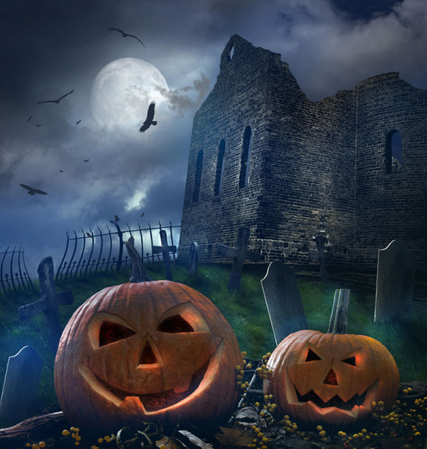 Halloween background 04--HD pictures
