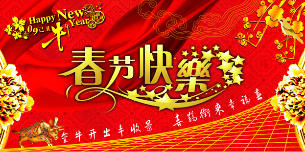 Happy new year Spring Festival pictures