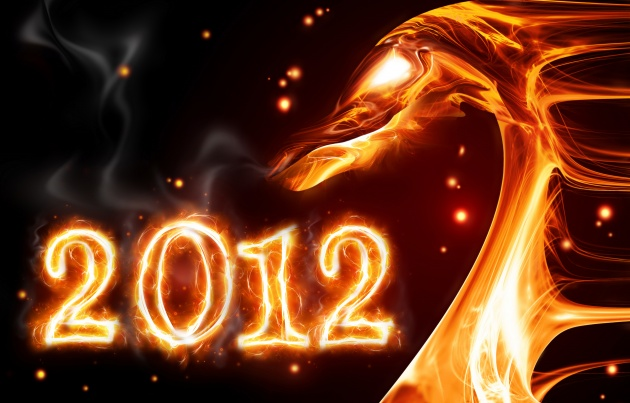 HD 2012 flaming Dragon picture download
