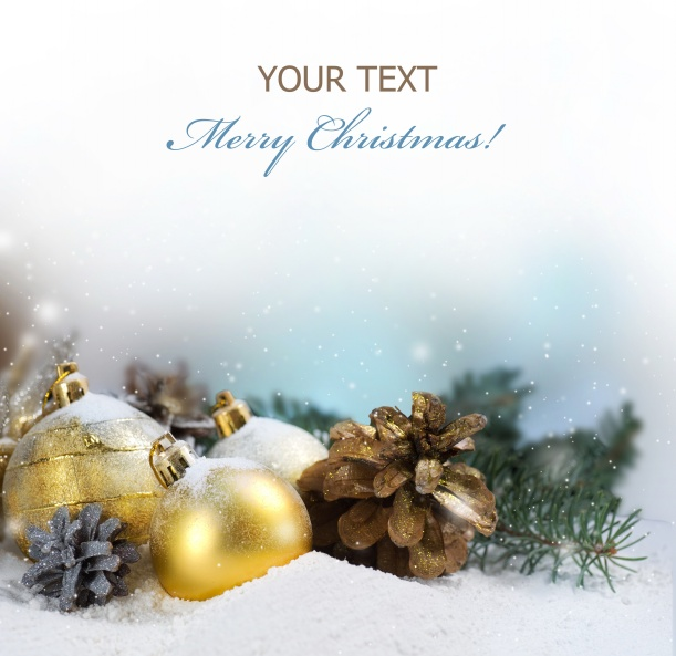 HD Christmas picture material download