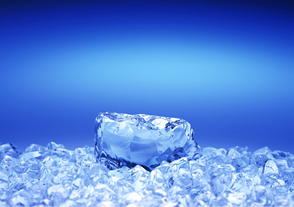 HD cool summer ice background picture
