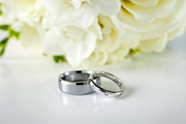 HD flowers wedding ring picture download
