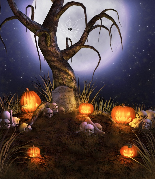 HD Halloween cartoon horror picture download