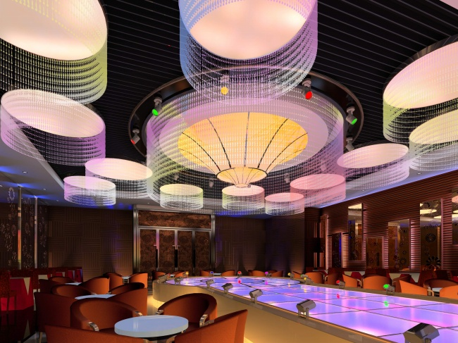 HD night club interior design pictures