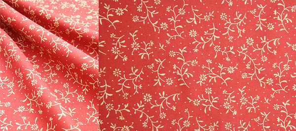 HD picture small red flowery background (2P)
