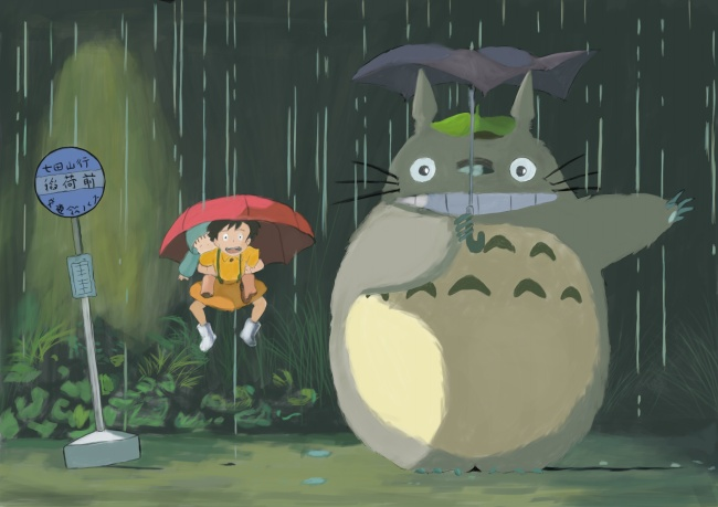 HD pictures cute Totoro download