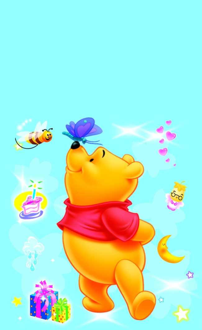 HD Pooh Desktop pictures to download