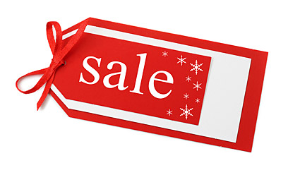Holiday sales label picture material