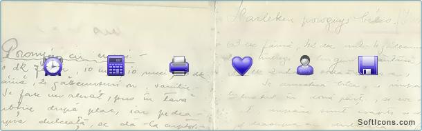 Iconza Blue Icons