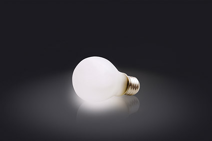 Incandescent picture material-1