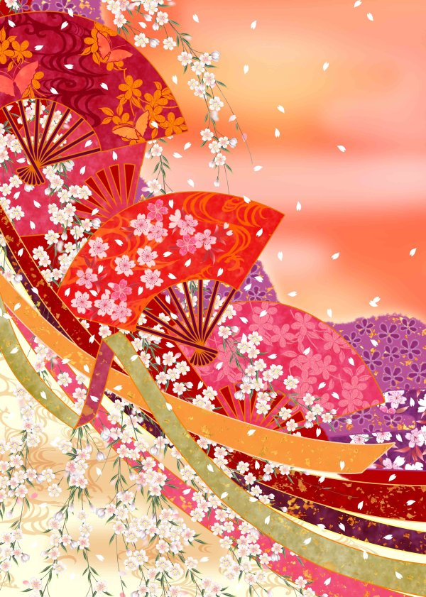 Japanese style background-color 24 HD pictures