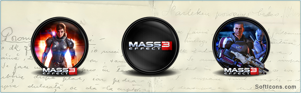 Mass Effect 3 Icons