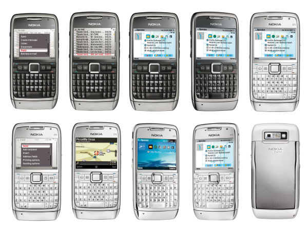 Nokia E71  mobile phone HD picture (with path)-1