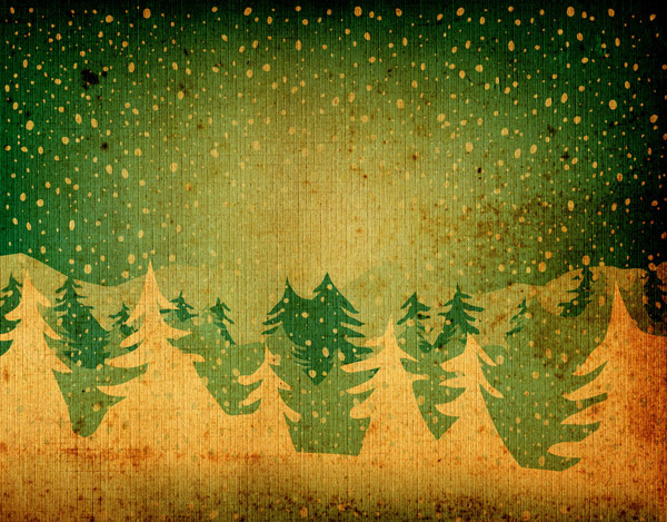 Nostalgic Christmas tree shaded background 01--HD pictures