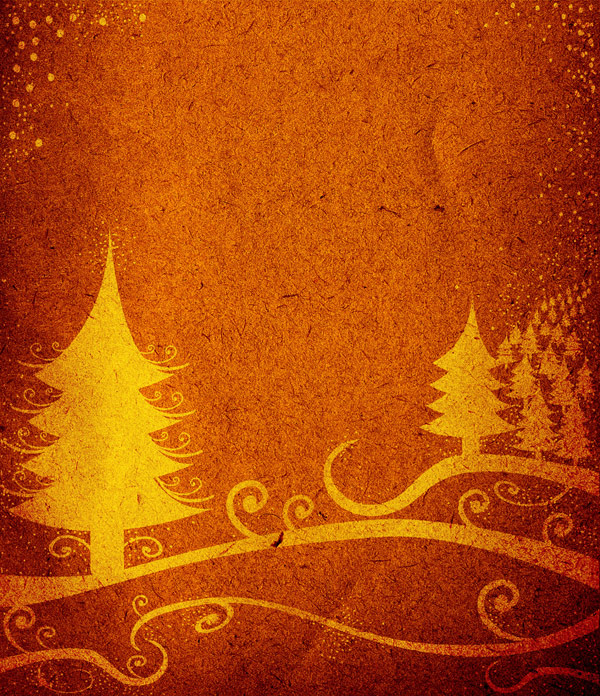 Nostalgic Christmas tree shaded background 02--HD pictures