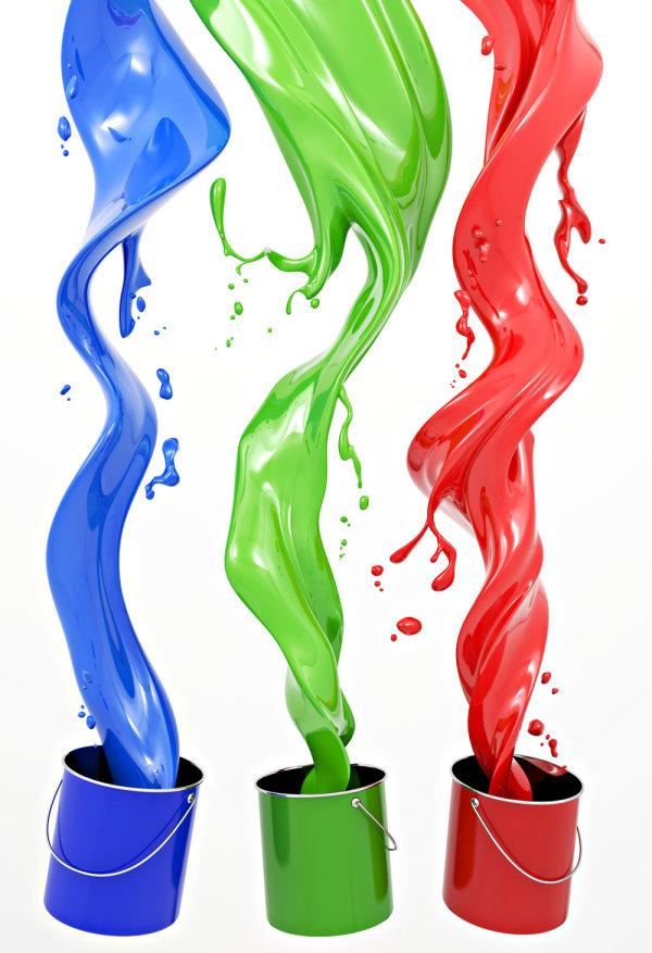 Paint pigments 01--HD pictures