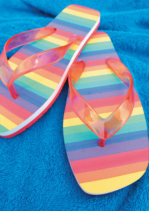 Pinch the Rainbow Sandals HD pictures