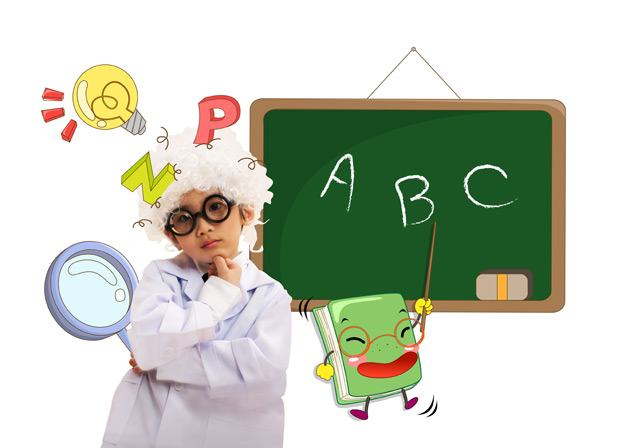 Psd creative child education materials free download for Children s material