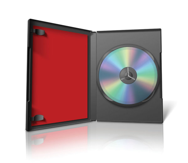 Red box with DVD01--HD pictures