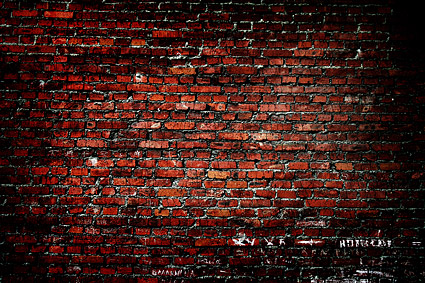 Red brick wallpaper background picture material