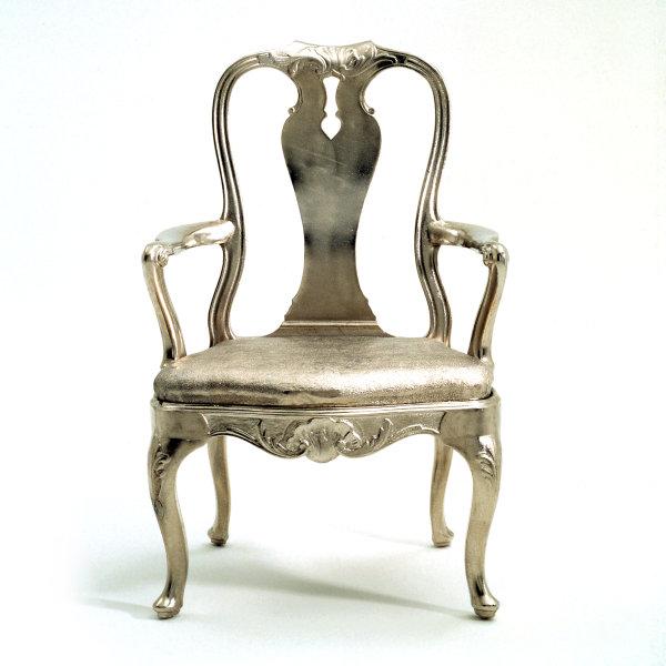Retro metallic Chair HD pictures