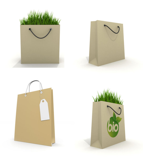 Reusable shopping bag HD pictures