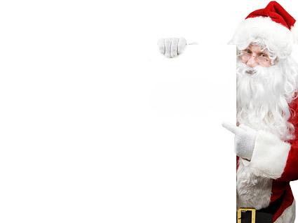 Santa Claus picture material