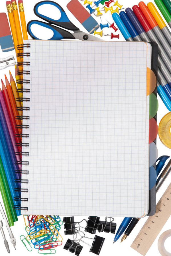School supplies HD pictures
