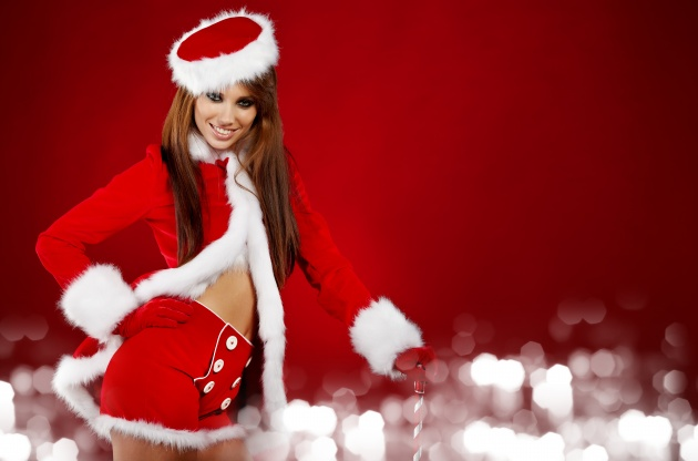 Sexy Christmas girls pictures download