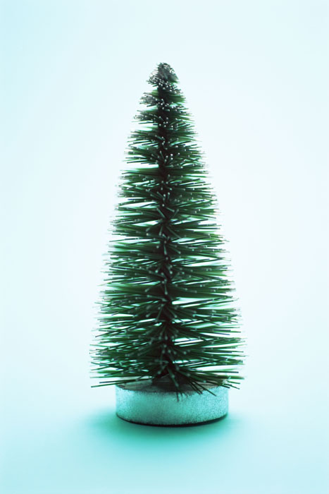 Simple green Christmas tree