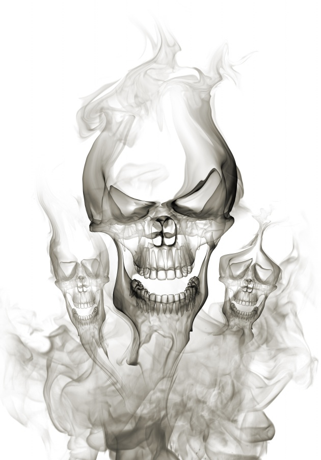 Sketch skull picture HD download