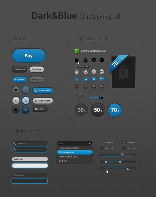 store ui design template free download