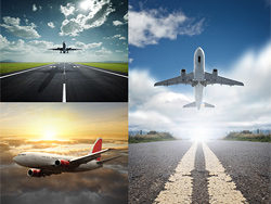 1} {planes fly-horizon HD pictures