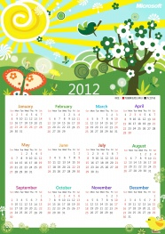2012 desktop calendar pictures download