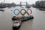 2012 Olympic rings pictures