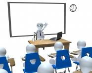 3D dog classroom seminar pictures