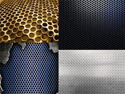 4 metal plate backgrounds HD pictures