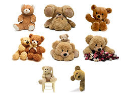 8 Teddy bear HD image set