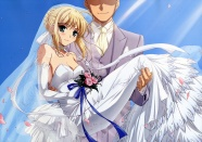 Anime wedding girls pictures download
