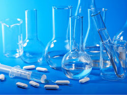 Assorted laboratory glassware HD pictures 3