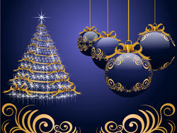 Beautiful Christmas design elements -46–HD pictures