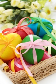 Beautiful Easter egg picture material download