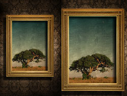 Beautiful textured frame 05–HD pictures