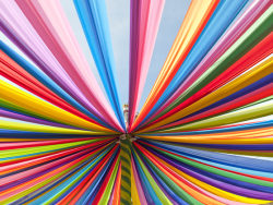 Brilliant HD pictures-Rainbow Stripes background 4