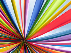 Brilliant Rainbow Stripes backgrounds HD pictures-2