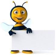 Cartoon bee pictures