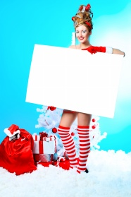 Christmas beauty brand pictures