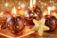 Christmas candles beautiful pictures