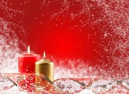 Christmas candles pictures download