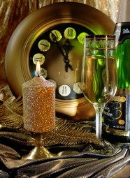 Christmas champagne material picture download
